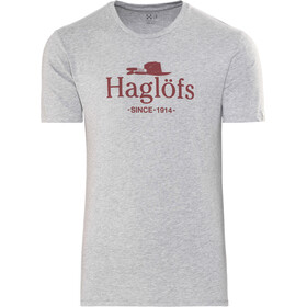 Haglöfs Camp T-shirt Heren, grey melange